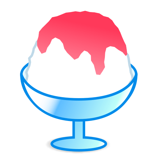 Shaved Ice Emoji