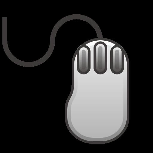 Three Button Mouse Emoji