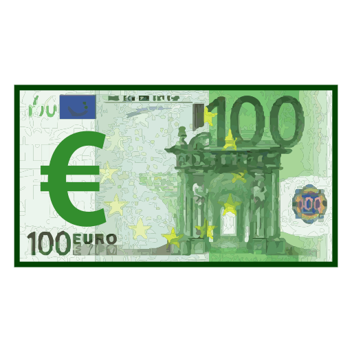 Banknote With Euro Sign Emoji for Facebook, Email & SMS | ID