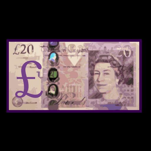 Banknote With Pound Sign Emoji