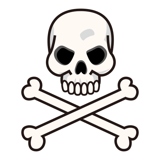 Skull And Crossbones Emoji