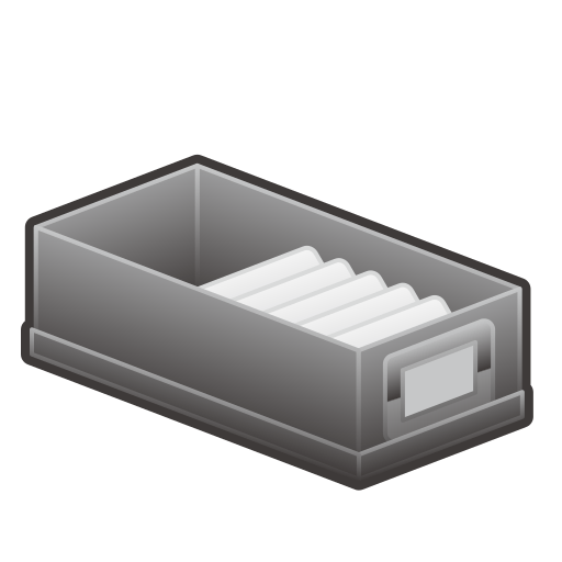 Card File Box Emoji