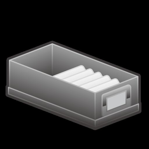 Card File Box Emoji