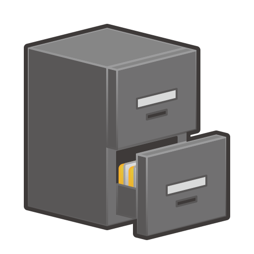 File Cabinet Emoji for Facebook Email SMS ID 12893 Emojicouk