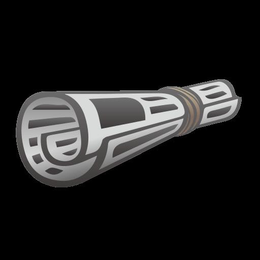 Rolled-up Newspaper Emoji