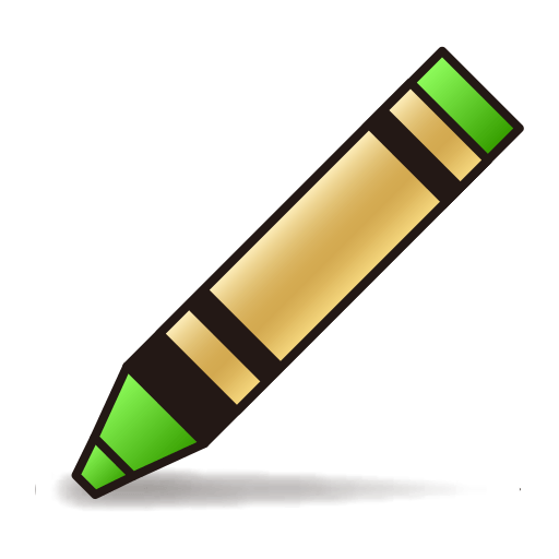 Lower Left Crayon Emoji