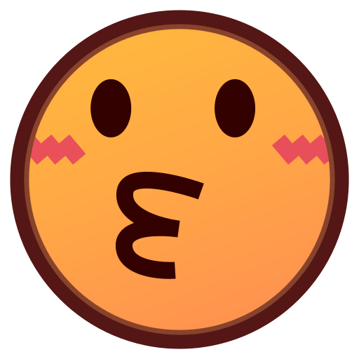 Kissing Face Emoji