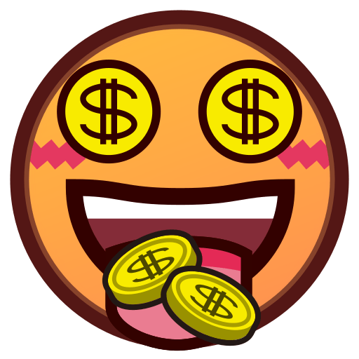 Money-mouth Face Emoji