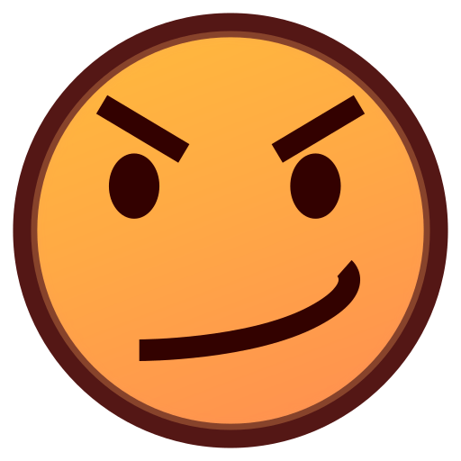 Face With Look Of Triumph Emoji