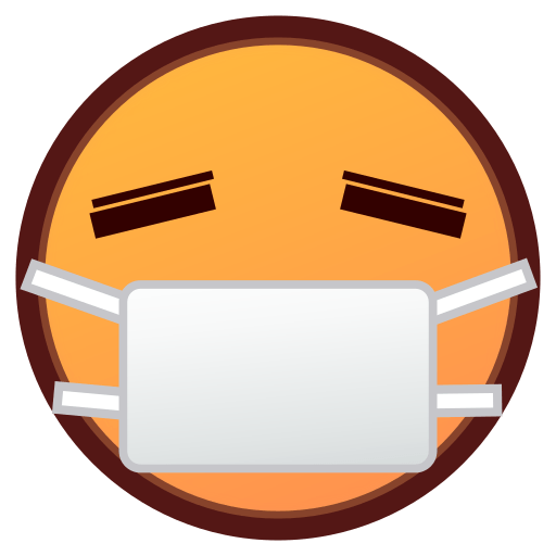 Face With Medical Mask Emoji