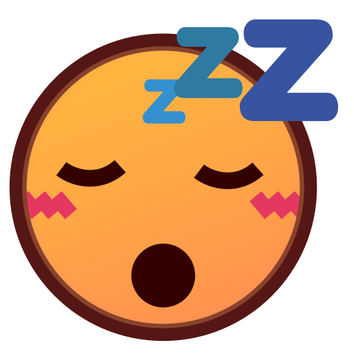 Sleeping Face Emoji