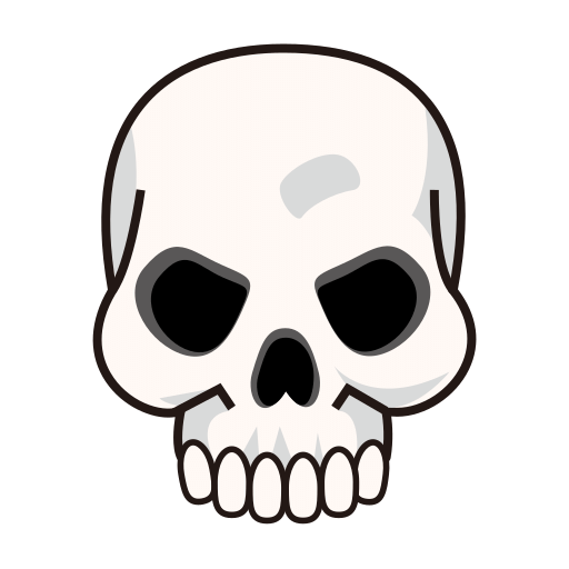 """Skull Emoji"""" Throw Pillows by dxstract 