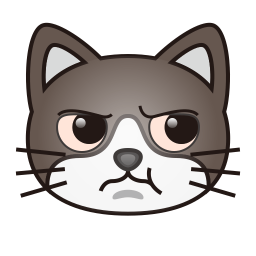 Pouting Cat Face Emoji