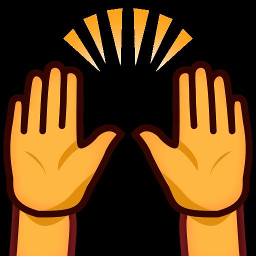 Person Raising Both Hands In Celebration Emoji