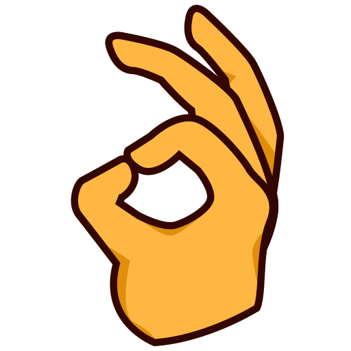 Ok Hand Sign Emoji For Facebook Email Sms Id 12304 Emoji