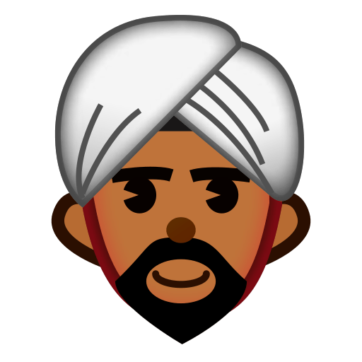 Man With Turban Emoji