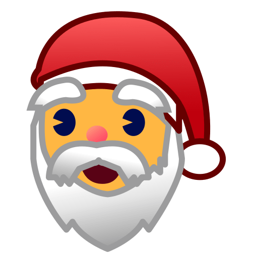 Christmas Emoji.Father Christmas Emoji For Facebook Email Sms Id