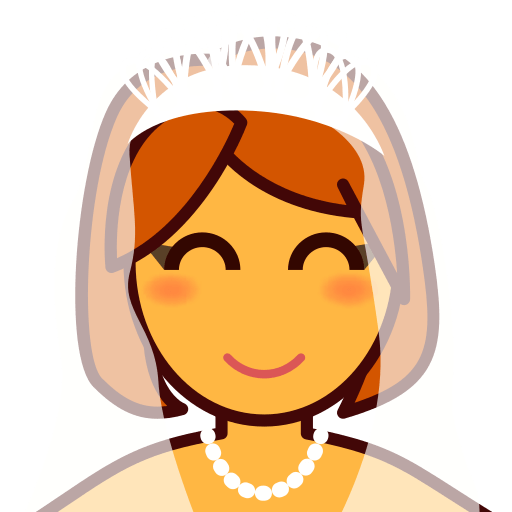 Bride With Veil Emoji