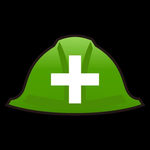 Helmet With White Cross Emoji