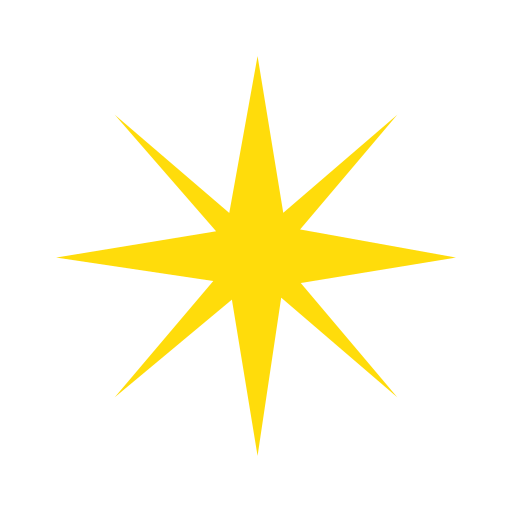 Eight Pointed Black Star Emoji