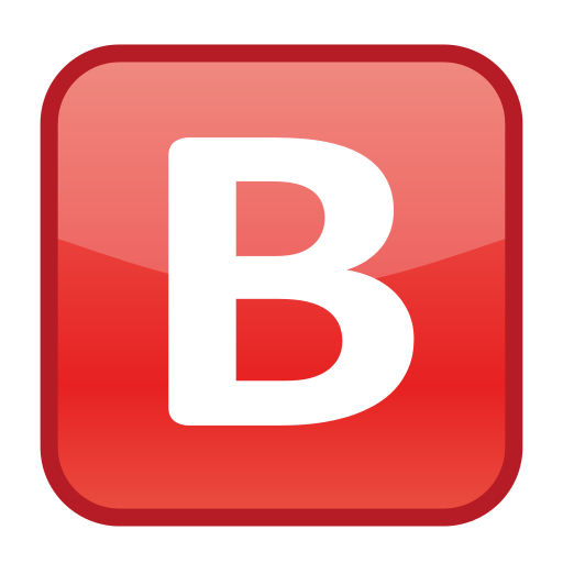 Negative Squared Latin Capital Letter B Emoji