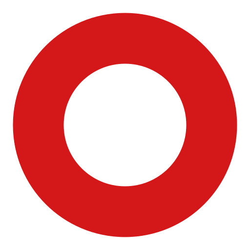 Heavy Large Circle Emoji