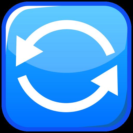 Anticlockwise Downwards And Upwards Open Circle Arrows Emoji