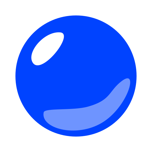 Large Blue Circle Emoji
