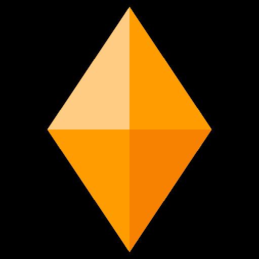 Large Orange Diamond Emoji