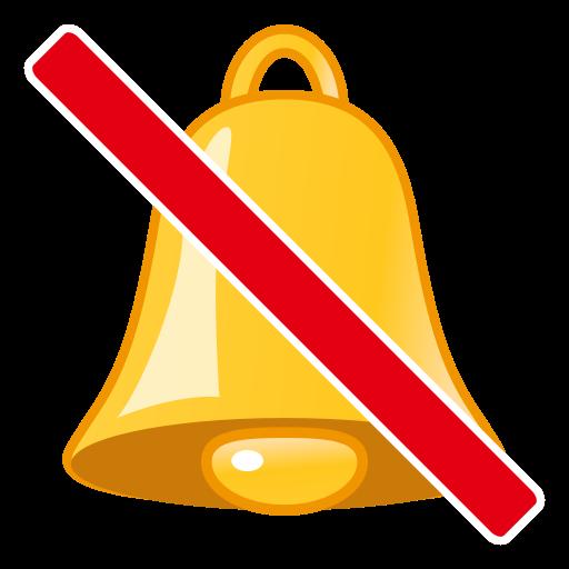 Bell With Cancellation Stroke Emoji