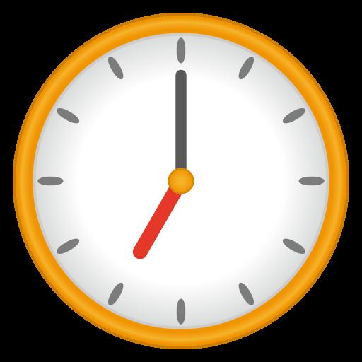 Clock Face Seven Oclock Emoji