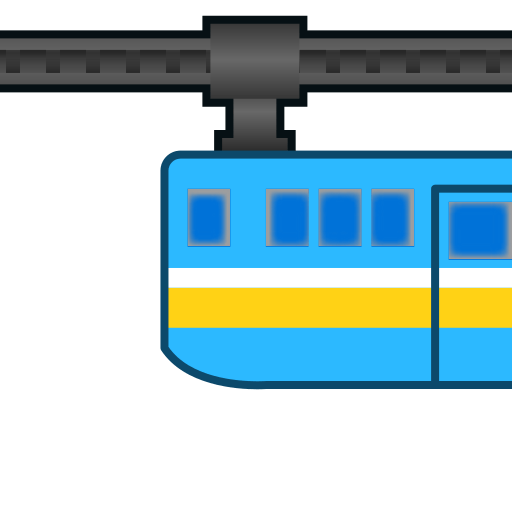 Suspension Railway Emoji