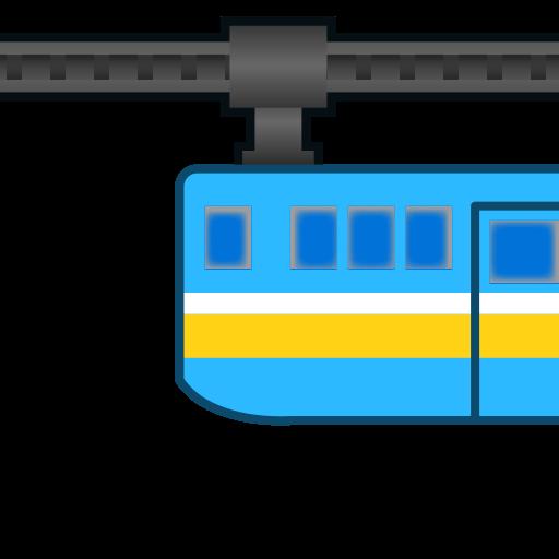 Suspension Railway Emoji