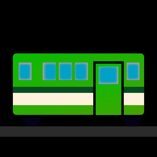 Tram Car Emoji