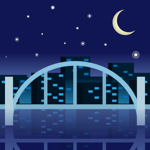 Bridge At Night Emoji