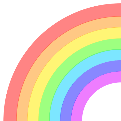 Rainbow Emoji for Facebook, Email & SMS | ID#: 12741 | Emoji.co.uk
