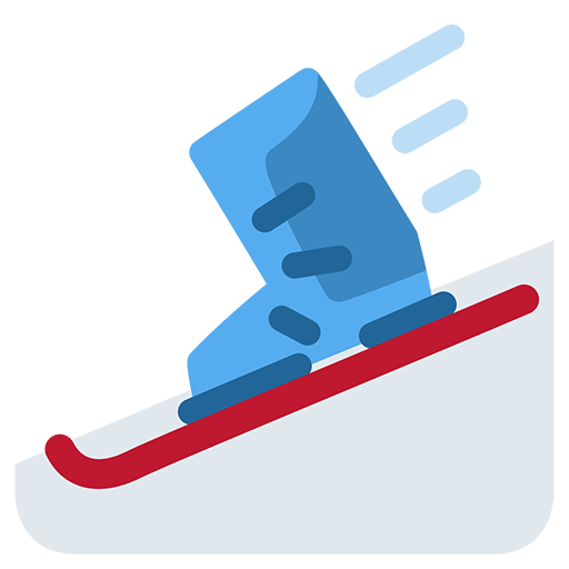 Ski And Ski Boot Emoji