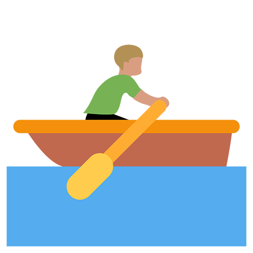 Rowboat Emoji