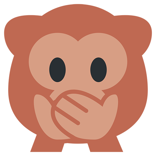 Speak-No-Evil Monkey Emoji