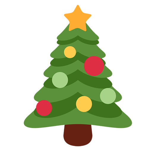 Christmas Tree Emoji for Facebook, Email & SMS | ID#: 10712 ...