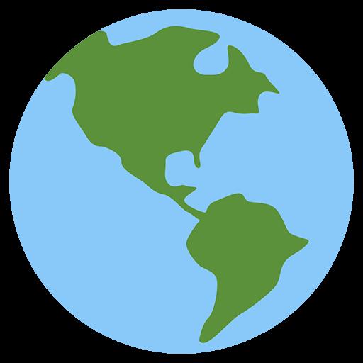 Earth Globe Americas Emoji