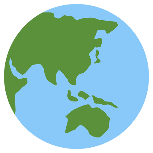 Earth Globe Asia-australia Emoji