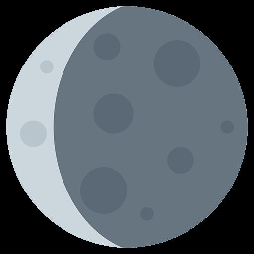 moon twitter symbol