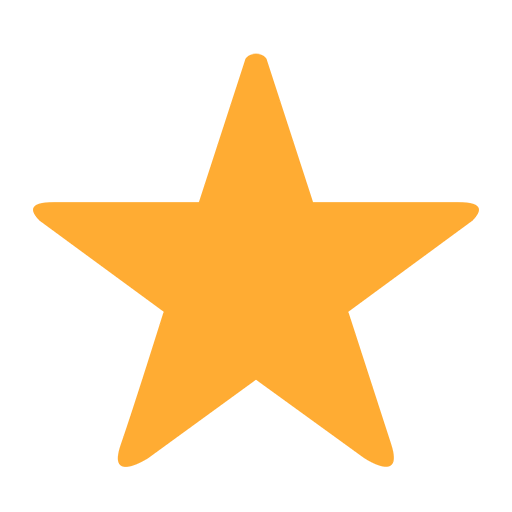 White Medium Star