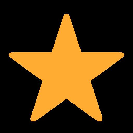 White Medium Star Emoji