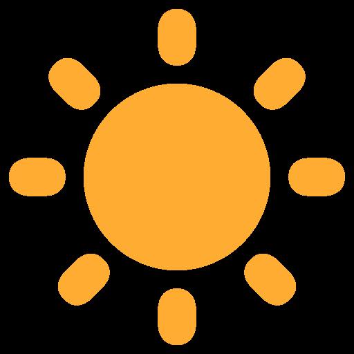 Black Sun With Rays Emoji