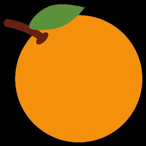Tangerine Emoji