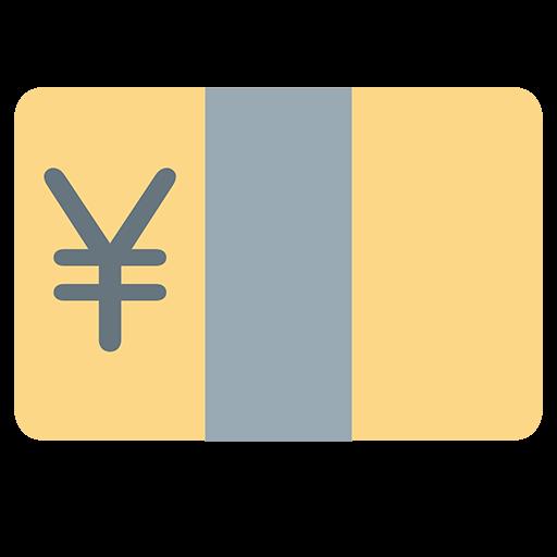 Banknote With Yen Sign Emoji