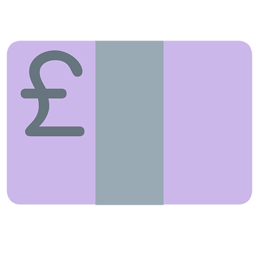 Banknote With Pound Sign Emoji