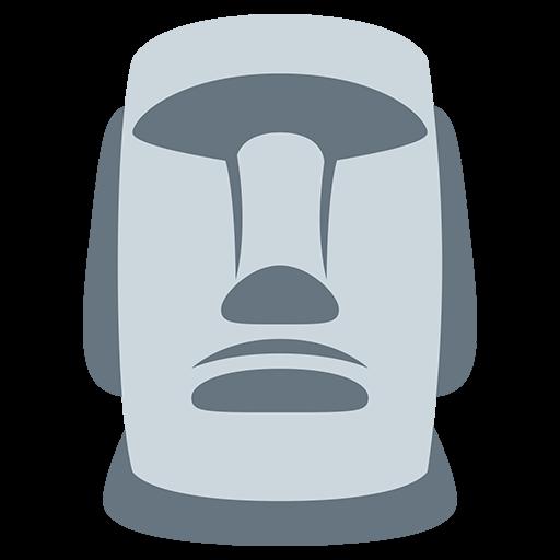 Moyai Emoji